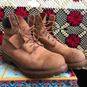 Timberland construction boots men's Size 7 us